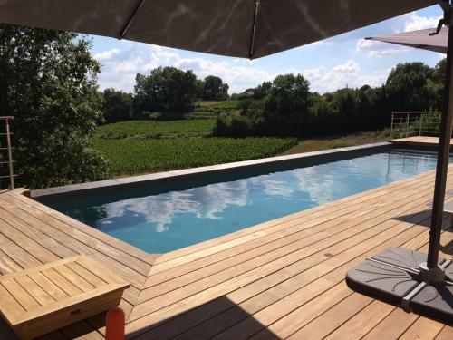 The swimming pool at or near L'Annexe du Comptoir
