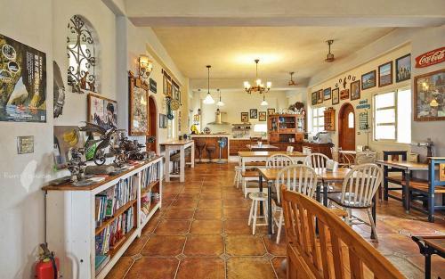 蕾米斯莊園餐廳或用餐的地方