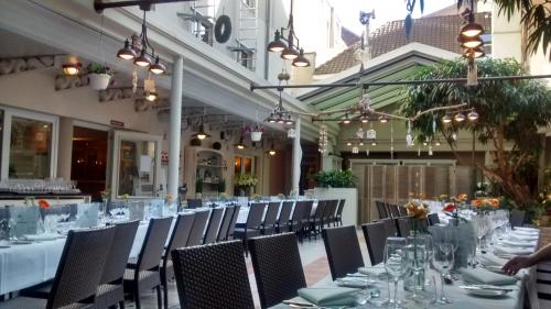 A restaurant or other place to eat at Leopold Hotel Brussels EU