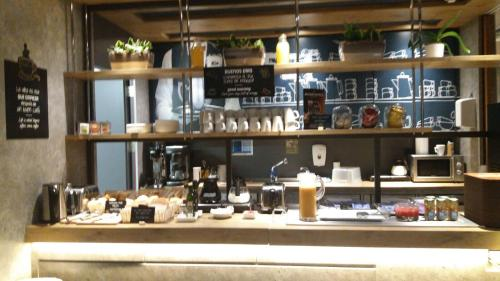 Restaurant o un lloc per menjar a Ibis Budget Madrid Calle 30