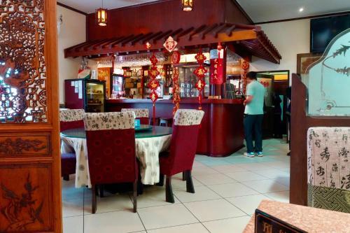 Лаундж или бар в Petit Motel Beijing