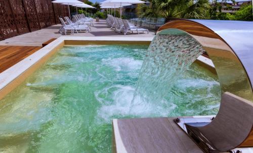 The swimming pool at or near Almaluna Hotel & Resort