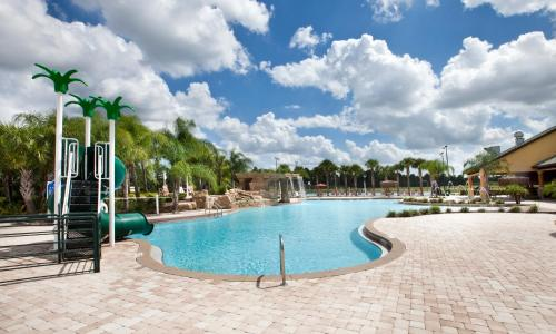 The swimming pool at or close to DISNEY area Luxurious House-Private Pool