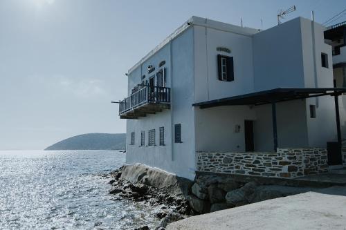 Amorgis Seaside Villa during the winter