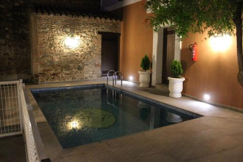 The swimming pool at or near Casa Rural La Pajarona