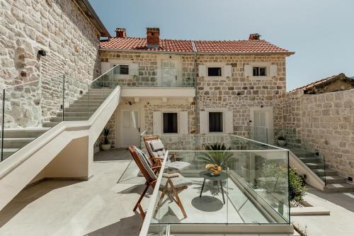 A balcony or terrace at Hotel Nauta