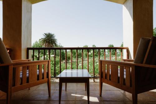 A balcony or terrace at Asara Wine Estate & Hotel