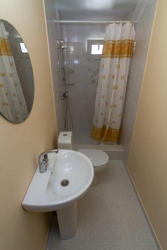 Ванная комната в Гостевой Дом Жасмин