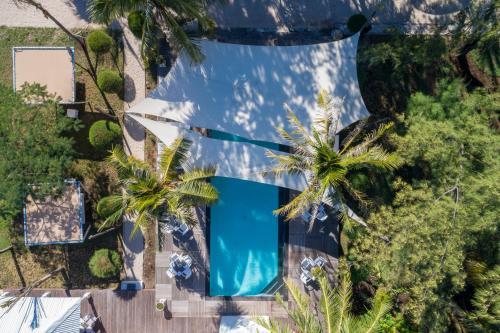 The swimming pool at or near Gili Eco Villas