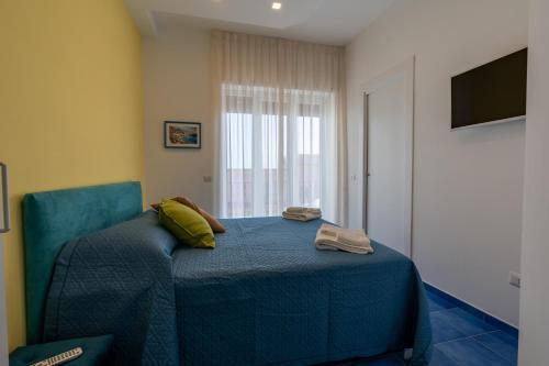 Letto o letti in una camera di Panoramic Terrazza - Località Maiori