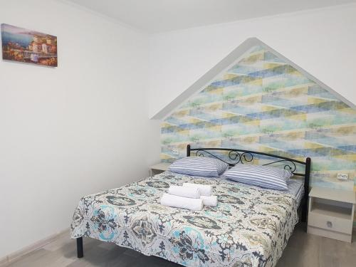 A bed or beds in a room at Apartments like hotel