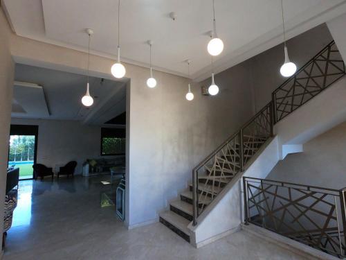 The lobby or reception area at Villa Malak Targa