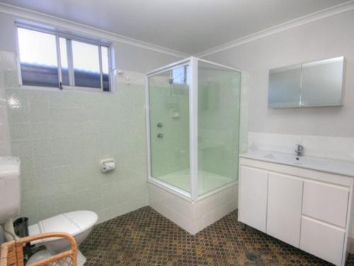 A bathroom at 45B Wharf Street Downstairs