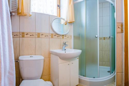 Łazienka w obiekcie Stare Krzeptówki