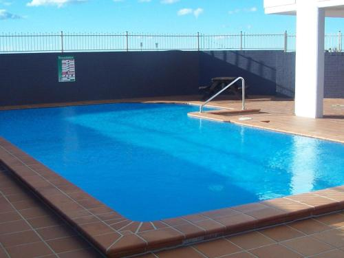 The swimming pool at or near Ebbtide 26