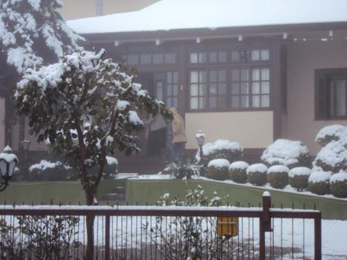 Pousada Gardenia Guest House during the winter
