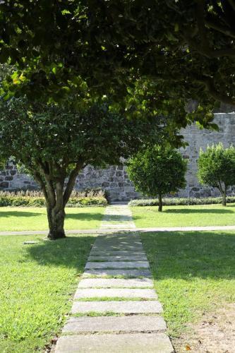 Jardín al aire libre en Quinta das Lavandeiras - Caldas de Vizela