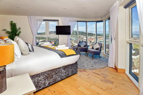Just Stay Wales - Meridian Quay Penthouses