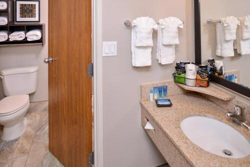 A bathroom at Best Western Plus Kelly Inn