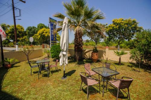 Ogród w obiekcie Hotel Europa