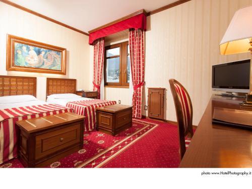 TV/Unterhaltungsangebot in der Unterkunft Grand Hotel Trento