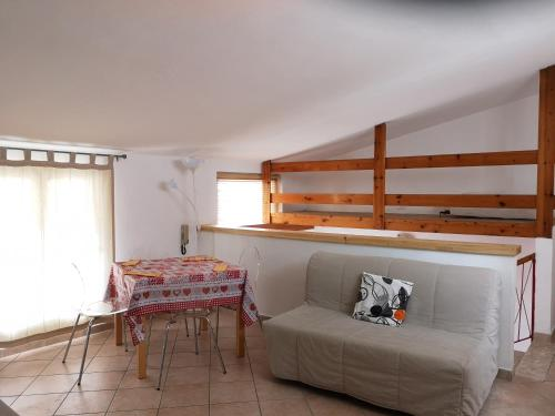 A bunk bed or bunk beds in a room at Borgo Antico Apartments