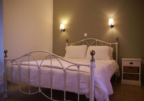 Ένα ή περισσότερα κρεβάτια σε δωμάτιο στο Thalero Holidays Center