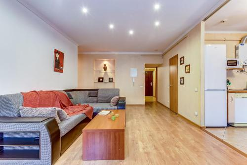 Гостиная зона в Apartment Vesta on Spassky