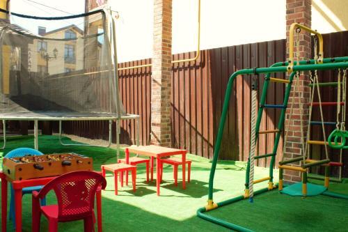 Детская игровая зона в Гостевой дом Бюргерский дворик