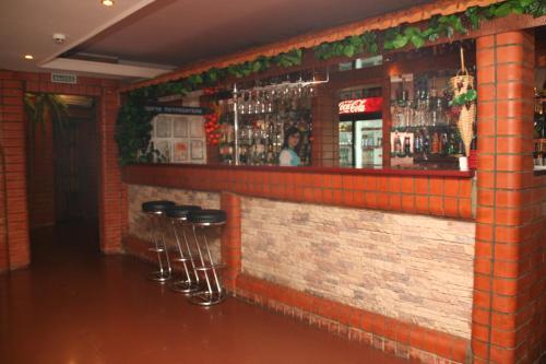 Лаундж или бар в Гостиница Лиана