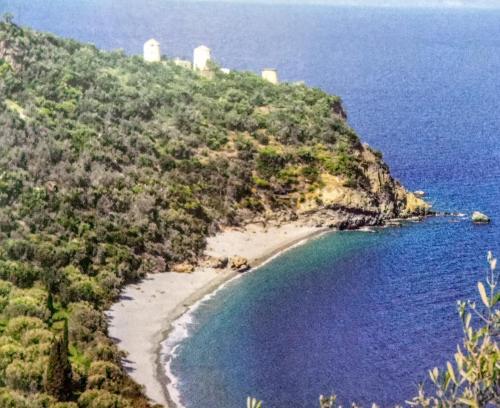 Vue panoramique sur l'établissement Oceanis Hotel