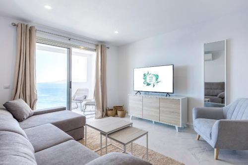 Zona de estar de Lujosos Apartamentos Mónaco - Canary Good Vibes
