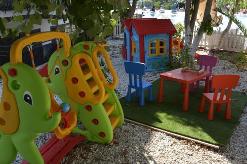 Children's play area at Seyir Village Hotel