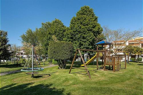 Children's play area at Bungalow Los Nidos classic