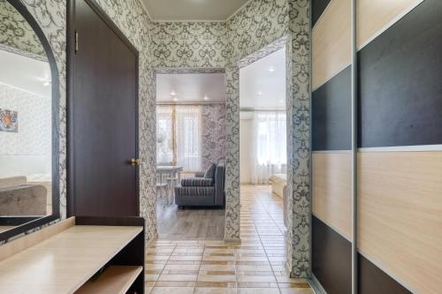 Ванная комната в Апартаменты на Сибгата Хакима 37