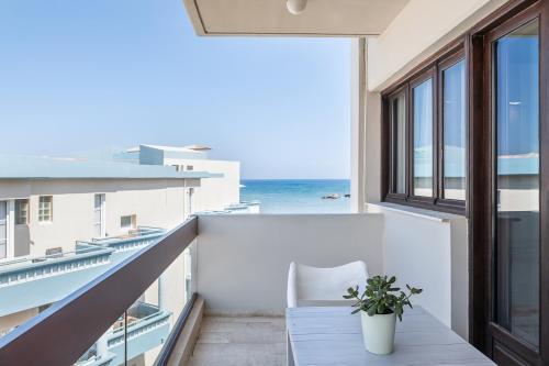Balcon ou terrasse dans l'établissement Magia Apartments
