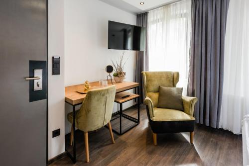 TV/Unterhaltungsangebot in der Unterkunft 360 Grad Hotel & Bar