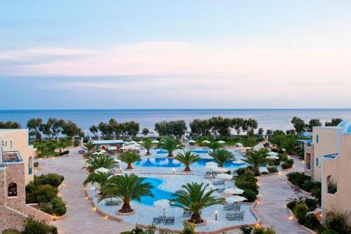 A view of the pool at Santo Miramare Beach Resort or nearby