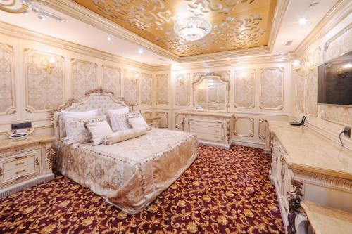 Гостиная зона в Fidan Spa Hotel Sochi