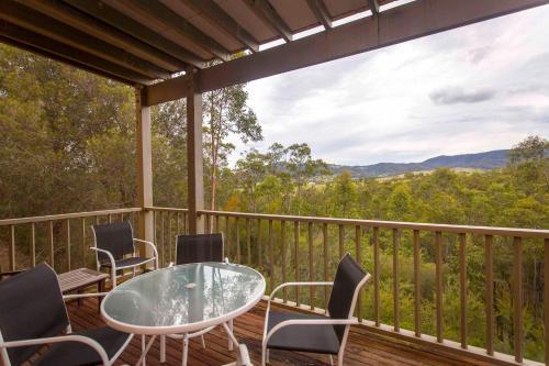 A balcony or terrace at Villa Grenache
