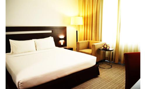 プレミア ホテルにあるベッド