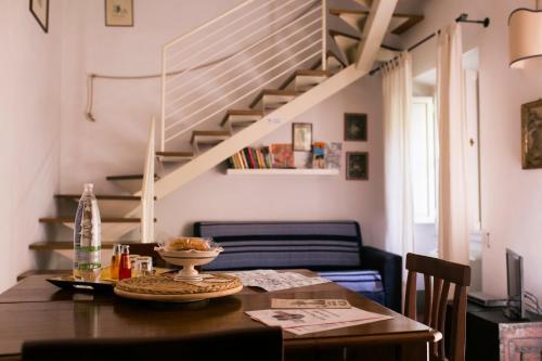 Area soggiorno di Relais Sassetti