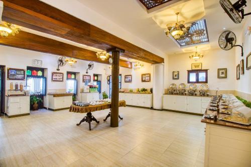 Лобби или стойка регистрации в Tembo Palace Hotel