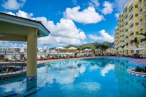 The swimming pool at or near The Villas at Simpson Bay Beach Resort and Marina