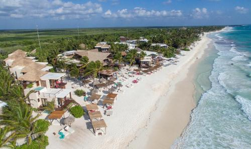A bird's-eye view of La Zebra a Colibri Boutique Hotel
