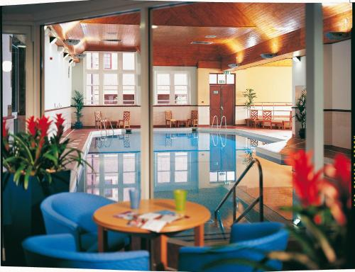 The swimming pool at or near Stirling Highland Hotel- Part of the Cairn Collection