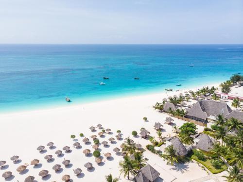 A bird's-eye view of Gold Zanzibar Beach House & Spa