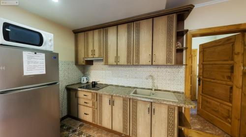 A kitchen or kitchenette at Mini hotel Solnce Karpat