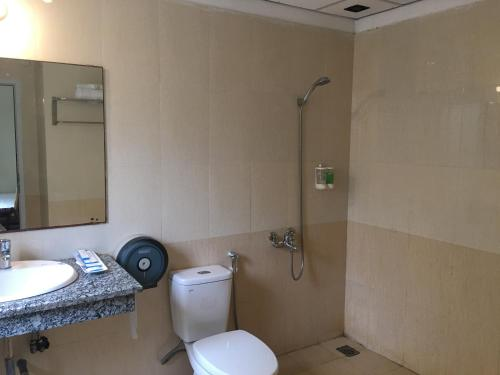 Phòng tắm tại Ngoc Linh Villas