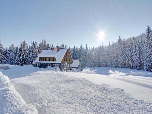 Hotel Perla Jizery v zimě